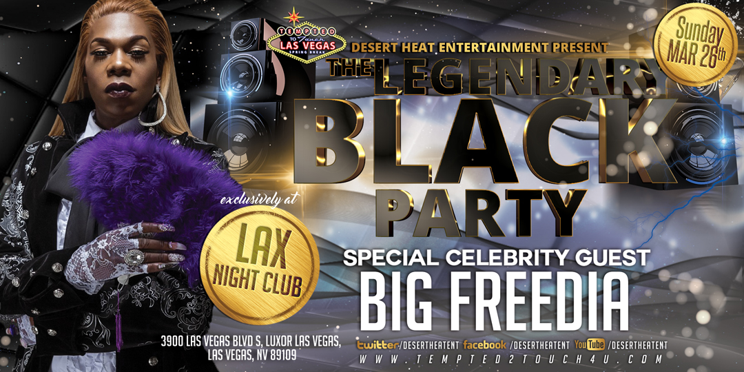 The Legendary Black Party 2017