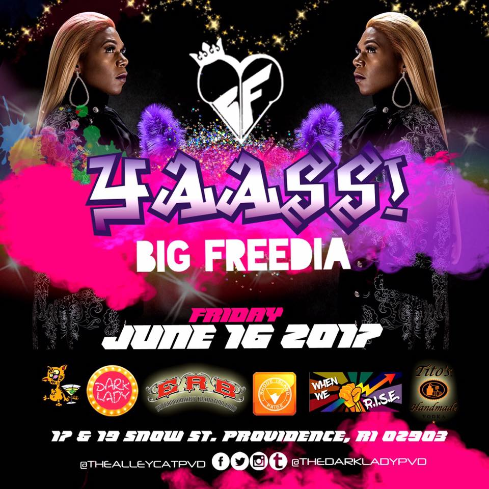 Big Freedia Pre Pride Show at THE DARK LADY!